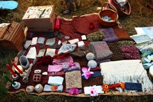 There are always opportunities to barter and trade at Harvest Gathering, so bringing a little extra money is always a good idea (though bringing something to trade is even better).